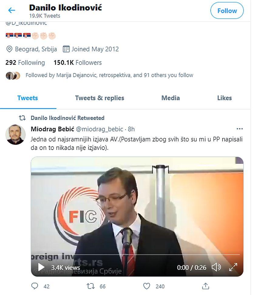 Danilo-Ikodinovic- tviter vučić