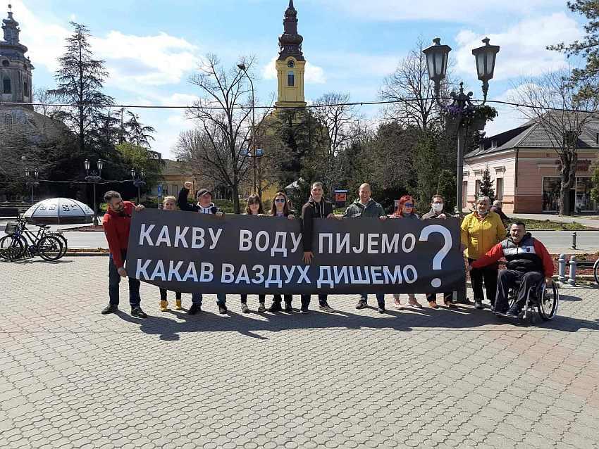 Vrbas, protest građana