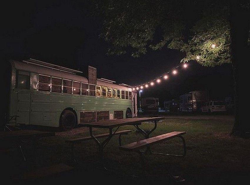 autobus noću
