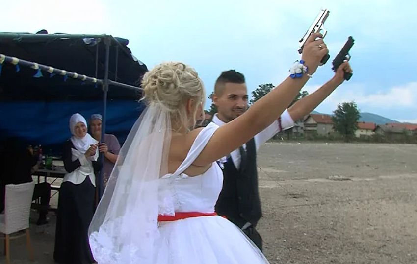 svadba pucanje