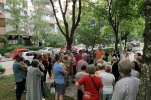 N 1 1623436140-Protest-stanara-u-Solunskoj-ulici-u-Beogradu-Foto-N1-3-750x563