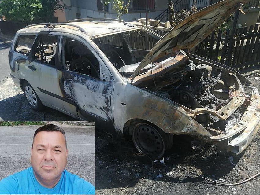 auto zapaljen