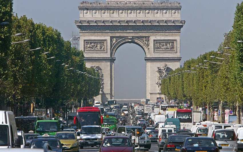 pariz saobracaj