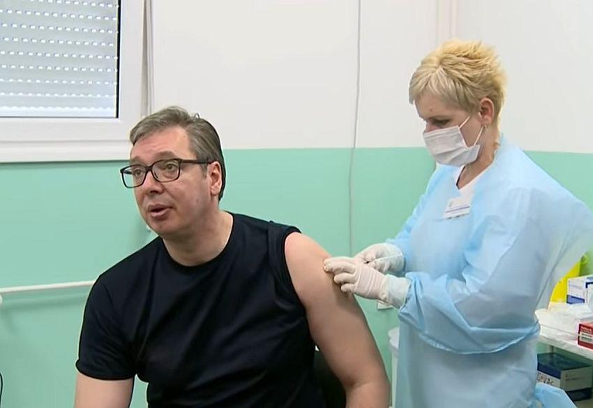 vakcinacija vucic slika